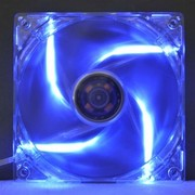 超频三 水晶F-126 机箱风扇(120mm/蓝色炫光/扇叶可拆卸)