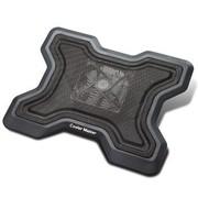 酷冷 尊龙5218E 9-15.4寸笔记本散热垫(冲网面板/12cm风扇/静音/立体出风)黑色