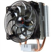酷冷 暴风S200 CPU散热器(多平台/2热管/静音风扇/附带硅脂)