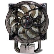酷冷 暴风S400智能版 CPU散热器(多平台/4热管/PWM温控/静音风扇/LED蓝光风扇)