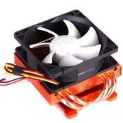 超频三 小海加强版 显卡散热器(4条热管/80mm静音风扇/多孔位兼容)