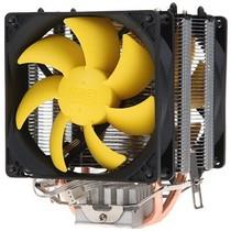 超频三 黄海增强版 全平台CPU散热器(双热管/双风扇/静音)产品图片主图