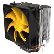 超频三 黄海豪华  智能温控 全平台CPU散热器(4条纯铜热管/LED智能静音风扇)