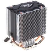 超频三 铁塔MINI静音版 双塔结构 全平台CPU散热器(双热管高性能/静音)