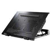 酷冷 Ustand Mini 9-15.4寸笔记本散热垫(冲网面板/双风扇/静音/自由移动)黑色