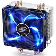 九州风神 玄冰400 多平台 CPU散热器 12025发光风扇 四热管 可调速