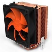 超频三 黄海冷静+智能温控 多平台CPU散热器(三条纯铜热管/阳极铜色不易生锈/10cm静音风扇)