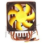 超频三 黄海MINI 多平台CPU散热器(双纯铜热管/8cm静音风扇)