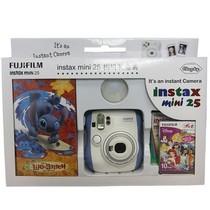 富士 instax mini25 拍立得相机礼盒套装(蓝色)产品图片主图
