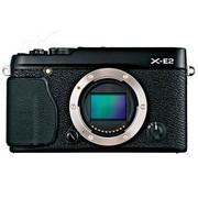 富士 X-E2 单电机身 黑色(APS-C画幅CMOS 去低通滤镜 Wi-Fi功能 智能混合AF 峰值+裂像屏MF)
