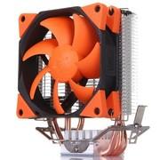 超频三 彩蝶网络版 智能温控 全平台CPU散热器(3条热管/包胶减震风扇)