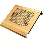 超频三 长江3号典藏版 笔记本散热器(全铝材质16cm静音风扇/适用15寸及以下笔记本)