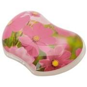 范罗士 CRC91792 人体工学炫彩系列花朵护腕式抗菌鼠标垫腕托