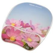 范罗士 CRC91790 人体工学炫彩系列花朵护腕式抗菌鼠标垫