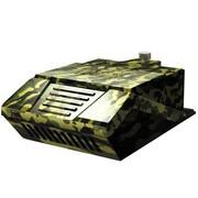 超频三 装甲M81 低噪音吸风式笔记本散热器