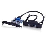 金胜 USB3.0四口扩展卡套装(KS-U3P2U2A)