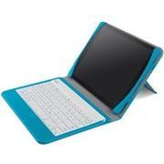 贝尔金 F5L152qeC05 苹果iPad Air 蓝牙键盘一体保护套 超薄(蓝皮/白键盘)