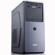 先马 商务之星 (乌金黑) 商用机箱 (金属拉丝烫金工艺/HD Audio/前置开关接口/支持SSD和长显卡)