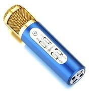 屁颠虫 098 手机K歌专用麦克风(调音大师)/(苹果,安卓系统全兼容)/平板,PC全功能/(蓝色)