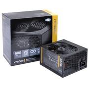 安钛克 额定600W  VP 600P 电源 (主动式PFC/12CM静音风扇/高档黑色PCB板/双组12V输出)
