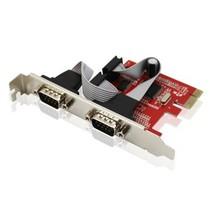优越者 Y-7504 PCI-E转RS232双串口台式机扩展卡产品图片主图