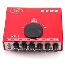 舒音 歌霸 KB-1 声卡 网络K歌调音台 网络唱歌、网络聊天、网络主持、卡拉OK、音乐聆听 红色产品图片主图