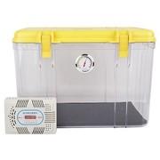 锐玛 R20 单反相机防潮箱 镜头收纳箱 相机干燥箱 大号,送大号吸湿卡 炫黄色