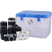 锐玛 R20 单反相机防潮箱 镜头收纳箱 相机干燥箱 大号,送大号吸湿卡 炫蓝色