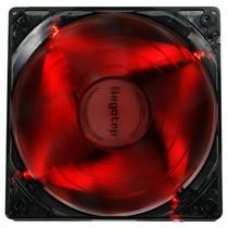 鑫谷 翼风YF-12-R 机箱风扇(红色LED灯,超静音,9片扇叶大风量,双供电接口)产品图片主图