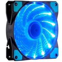 至睿 旋驰H120D (炫酷15组LED灯+22dB极静音+强劲风量+扇框防震) (机箱风扇)(蓝灯)产品图片主图