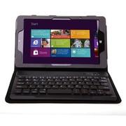 SEENDA 联想miix2 8寸保护套无线蓝牙键盘miix2 8.0英寸蓝牙键盘皮套 黑色