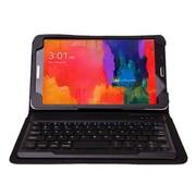 SEENDA 三星Galaxy Tab Pro8.4寸保护套无线蓝牙键盘SM-T320皮套 黑色