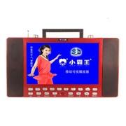 小霸王 移动可视播放器SB-609B 高清数字视频机12寸超大屏带收音电视功能低音炮读TF卡