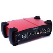 艾肯 Utrack 外置专业录音 笔记本台式K歌、唱歌、直播设备 专业录音声卡 红色