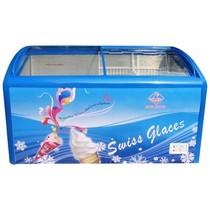 冰熊 卧式冷柜 冷藏冷冻转换展示冰柜 SC/SD-388Y产品图片主图