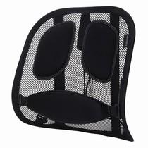范罗士 CRC80399 炫彩人体工学椅背靠垫进化版 汽车椅背靠垫 腰垫 腰托 黑色产品图片主图
