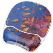 范罗士 CRC92028 炫彩系列海底世界水晶硅胶 鼠标垫