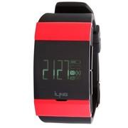 iLing 智能手/腕表 2s 蓝牙通话  智能佩戴(可穿戴)设备 来电提醒 手机防丢失 短信 闹钟 红色