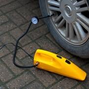 车行天下 车载吸尘器车载充气泵大功率吸尘器干湿两用 黄色