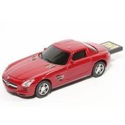 奥速达 Mercedes-Benz SLS-16G  奔驰SLS 16G 创意礼品汽车u盘 红色