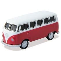 奥速达 VW CLASSICAL Bus-8G  大众经典公车 8G 创意礼品汽车u盘 红色产品图片主图