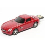 奥速达 Mercedes-Benz SLS-8G  奔驰SLS 8G 创意礼品汽车u盘 红色