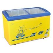 冰熊 SC/SD-268Y 268升卧式冷藏冷冻展示冰柜 冰柜