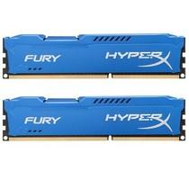 金士顿 骇客神条 Fury系列 DDR3 1600 16GB(8GBx2条)台式机内存(HX316C10FK2/16)蓝色产品图片主图