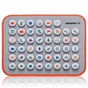 RantoPad H1+ 包边鼠标垫 按钮