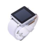 喜越 U6智能手表手机 情侣对表 蓝牙手表 白色
