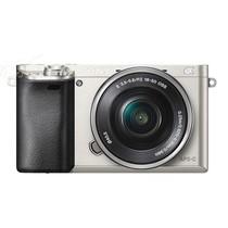 索尼 A6000 单电套机 银色(E PZ 16-50 f/3.5-5.6 OSS)产品图片主图