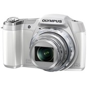 奥林巴斯 SZ-17 数码相机 白色 1600万CMOS传感器 24倍光学变焦(最高48倍超精细变焦) 双重防抖