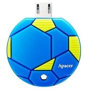 宇瞻 AH174 手机U盘  热血足球  32GB (靛蓝色)