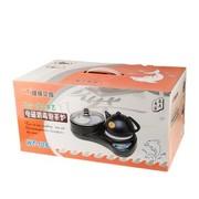 炜腾 WT-10S 二合一组合电磁消毒泡茶炉 黑色 电水壶 电煮锅套装